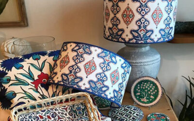 Iznik decorative art at home with Corallina!