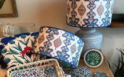 Iznik decorative art at home with Corallina!