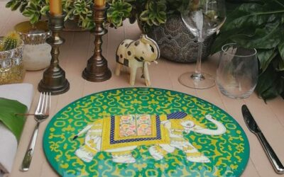 Sottopiatti Elphanta Elefanti: colore e allegria!