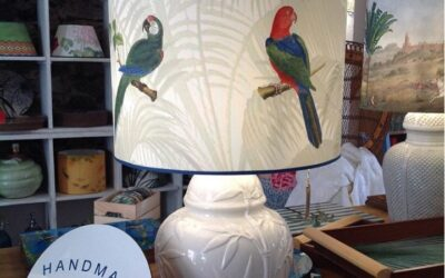 Our fantastic Fauna Pappagalli Colorful lampshade!