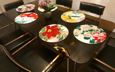 Each table has its own style