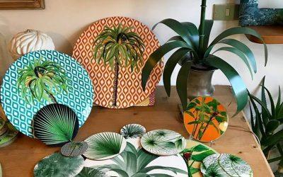 Ispirazione Tropical con i sottopiatti IBIZA PALMA