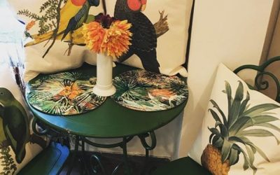 Soft feathers with La Corallina cushions