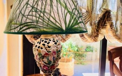 Paralume Palme foglie sottili. La scelta Jungle!
