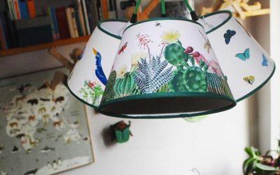 La Corallina's Lampshades… a style choice!