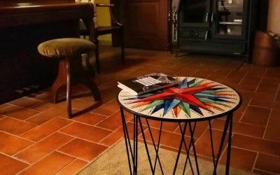 La Corallina iron coffee tables