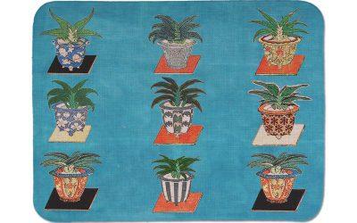 Tablecloth of fabric La Corallina