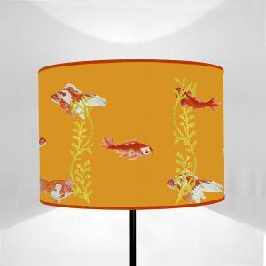 Mare Pesci Rossi fondo Arancio