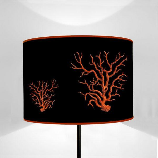 Mare Coralli Rossi fondo Nero