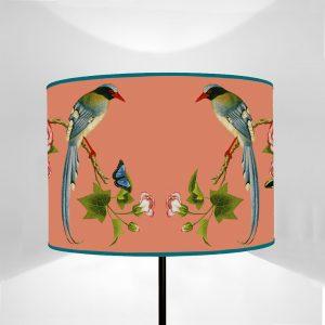 Fauna Uccelli Mug fondo Albicocca
