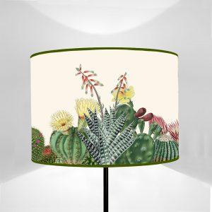 Paralume cilindro Flora Cactus