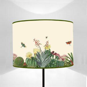 Flora Cactus con Insetti