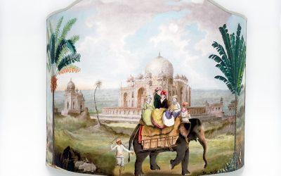 Nuova Applique Sagomata Discovering India!