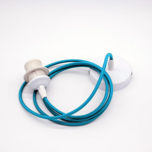 filo elettrico azzurro